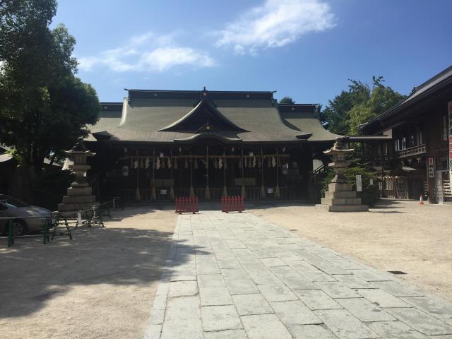 福岡県小倉祇園八坂神社の本殿