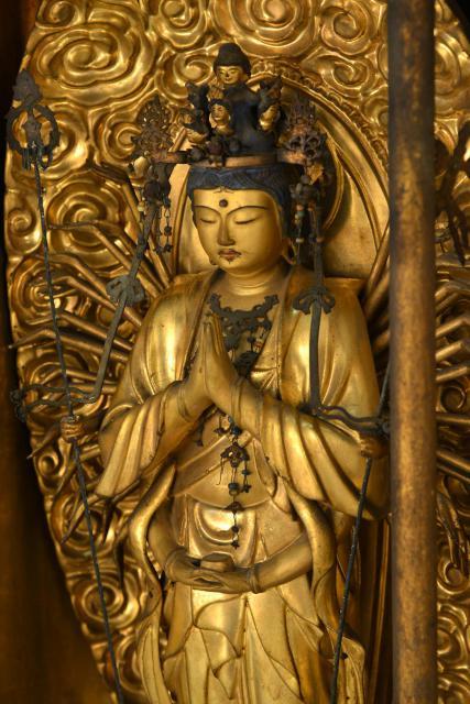 山口県瑞相寺の仏像
