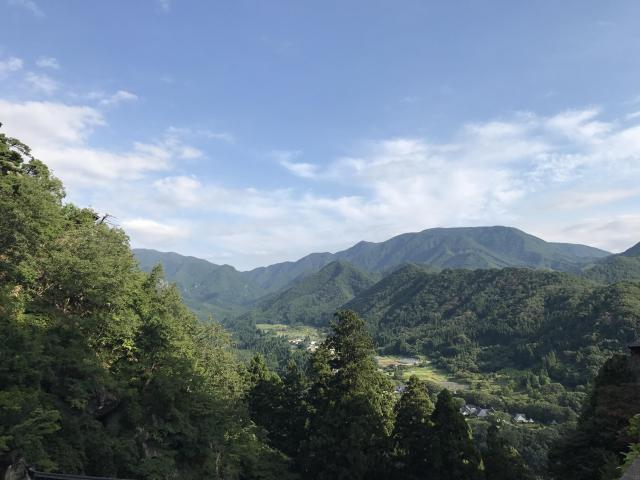 立石寺の景色
