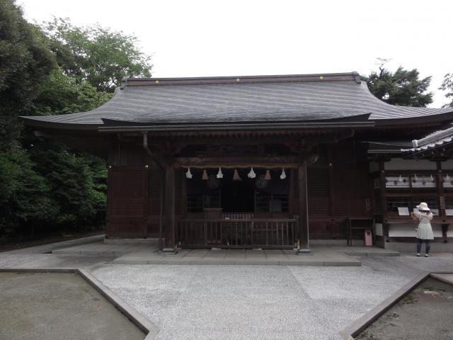 島根県城山稲荷神社の本殿