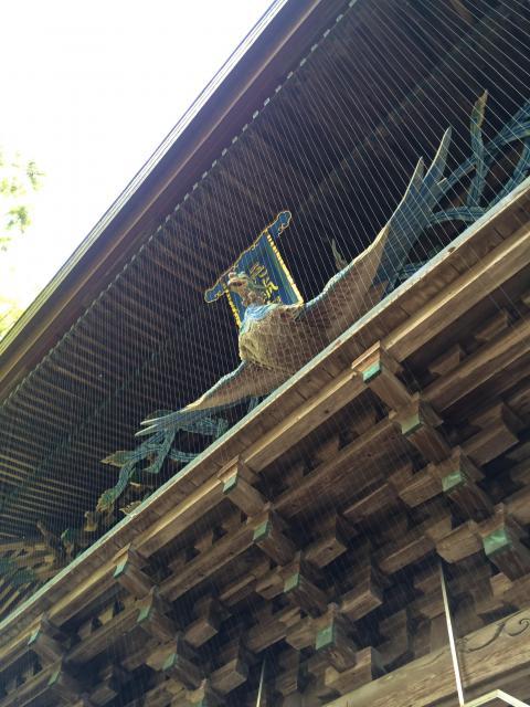 高知県潮江天満宮の山門