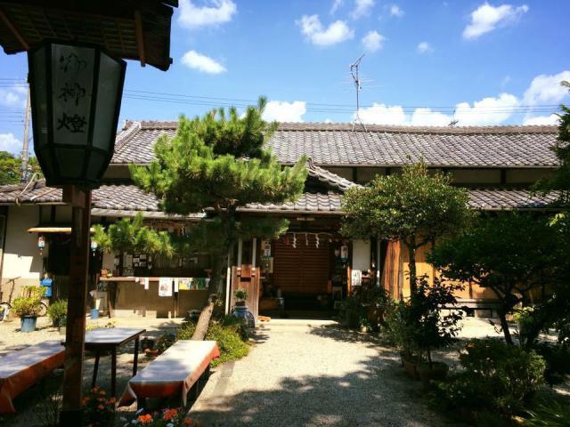 源九郎稲荷神社の本殿