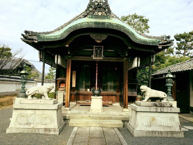 京都府両足院(建仁寺塔頭)の本殿