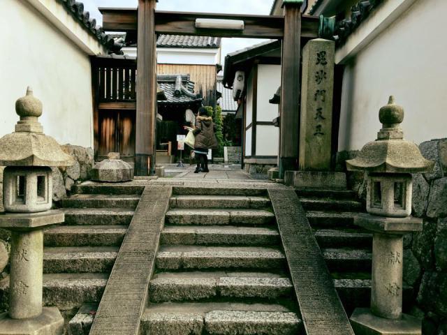 京都府両足院(建仁寺塔頭)の山門