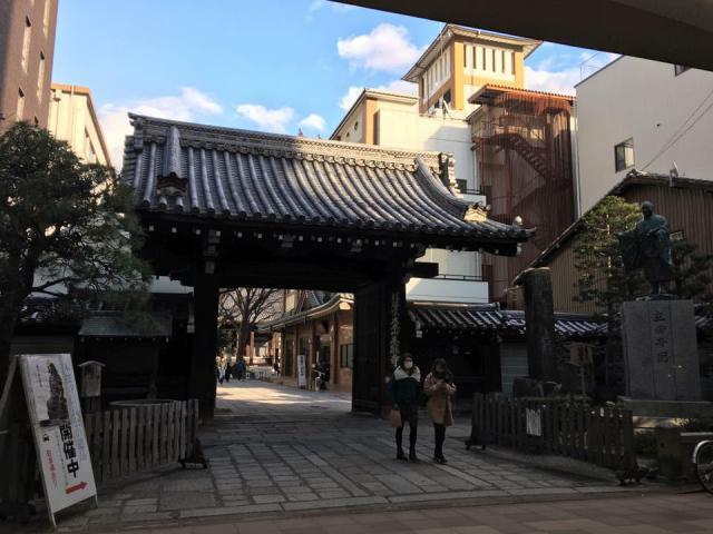 本能寺の山門
