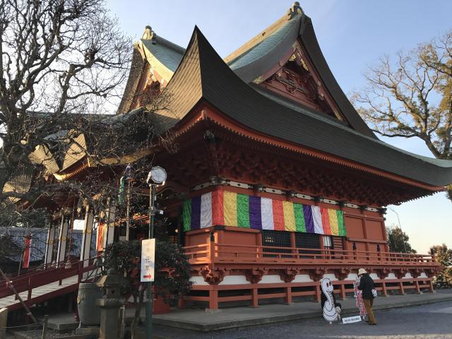 千葉県布施弁天東海寺の本殿