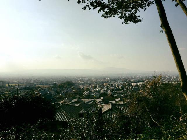 白毫寺の景色