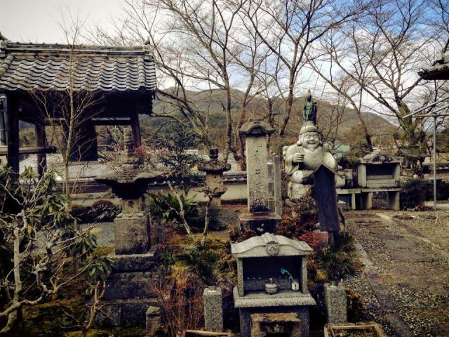 京都府谷性寺の像