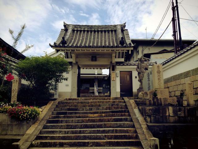 大阪府心眼寺の山門