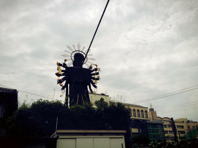大阪府心眼寺の仏像