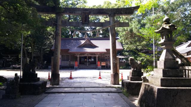 高知県久礼八幡宮の鳥居