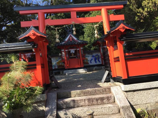 奈良県奈良豆比古神社の鳥居