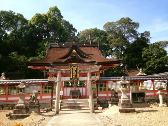 大阪府錦織神社の鳥居