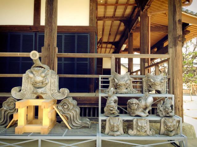 常楽寺の像