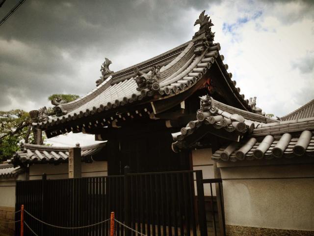 梅林寺の山門