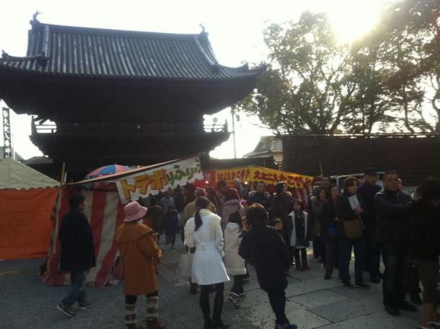 魚吹八幡神社のお祭り