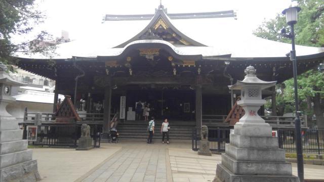 東京都法明寺の本殿