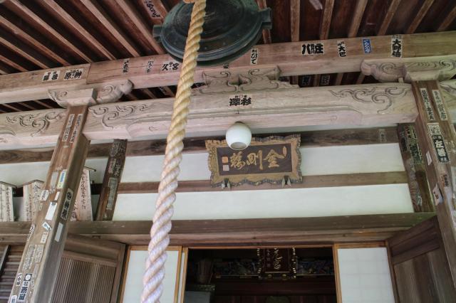 奈良県大野寺の本殿