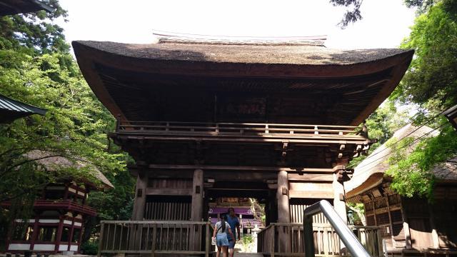 栃木県西明寺の山門