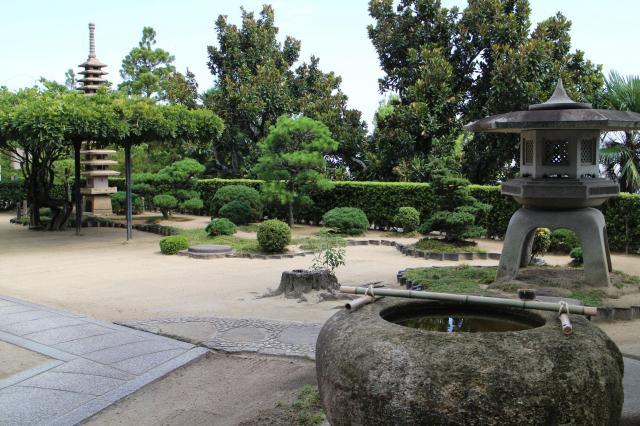 祥福寺の庭園