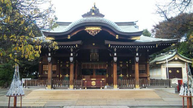 東京都六郷神社の本殿