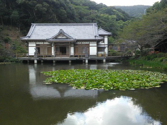 福岡県平山観音院の自然