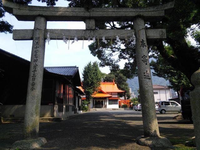 福岡県御所神社の鳥居