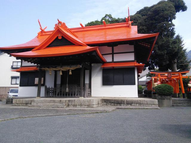 福岡県御所神社の本殿