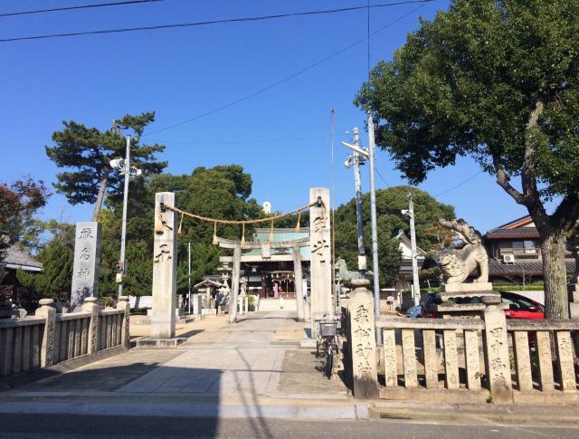 愛媛県厳島神社の鳥居