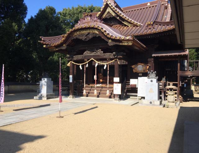 愛媛県厳島神社の本殿