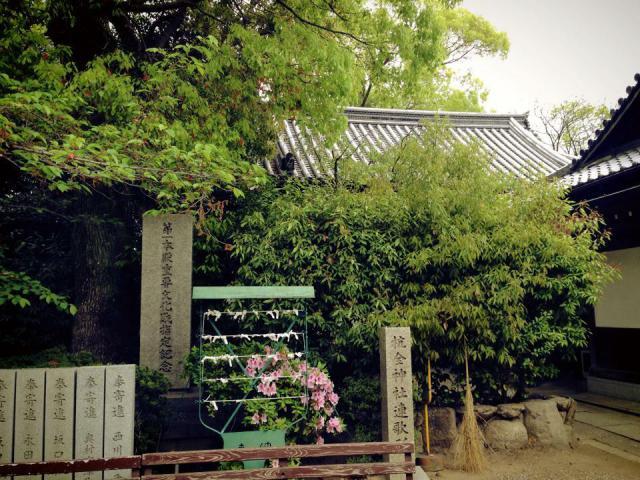 杭全神社の建物その他