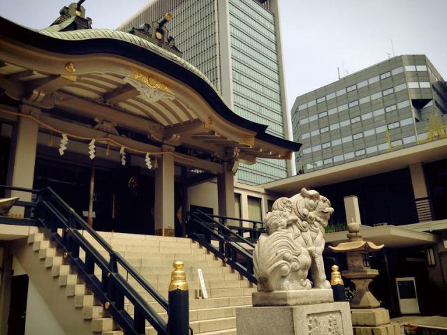 難波神社の建物その他