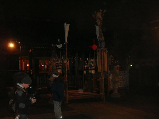 諏訪神社のお祭り