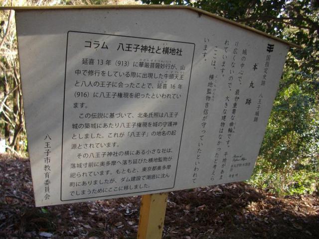 東京都八王子神社の歴史