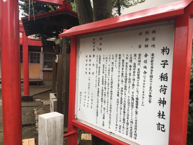 稲荷神社(東京都梅ケ丘駅) - その他建物の写真