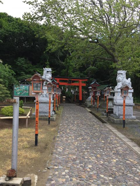 高山稲荷神社の建物その他
