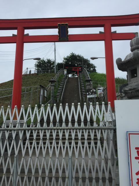蕪嶋神社の鳥居