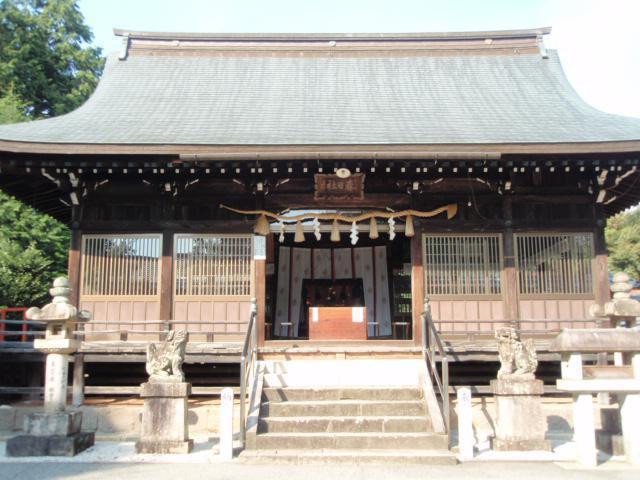 岐阜県春日神社の本殿