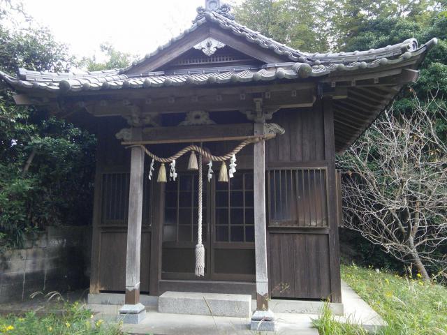福岡県貴船神社の本殿