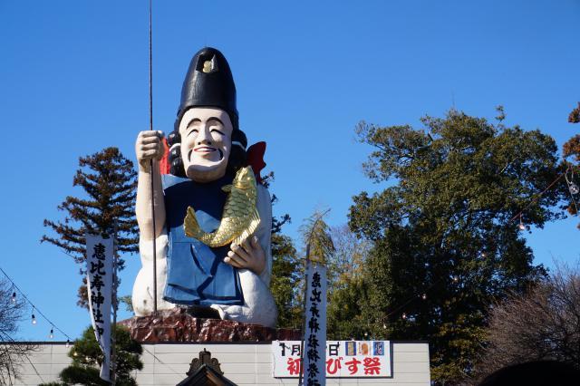 大前神社の像