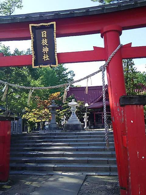 山形県山王日枝神社の本殿