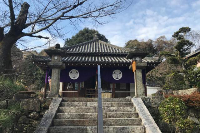 放光寺の本殿