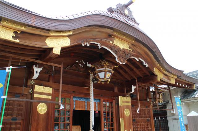 大阪府若宮八幡大神宮の本殿