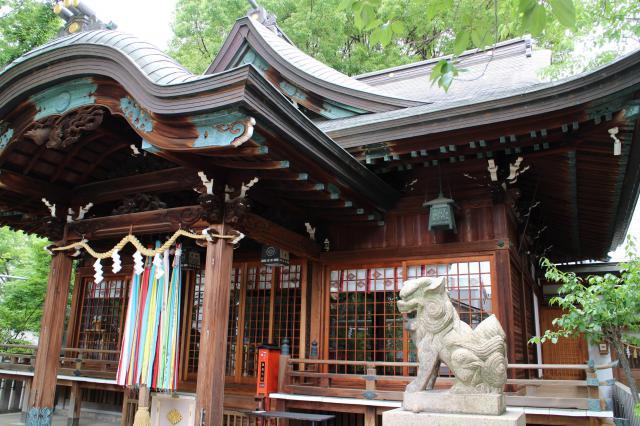大阪府白山神社の本殿