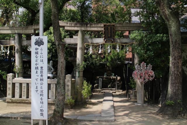 大阪府玉造稲荷神社の本殿
