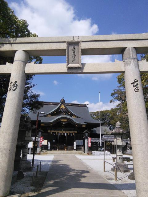 福岡県春日神社の本殿