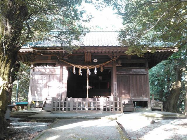 福岡県白山多賀神社の本殿
