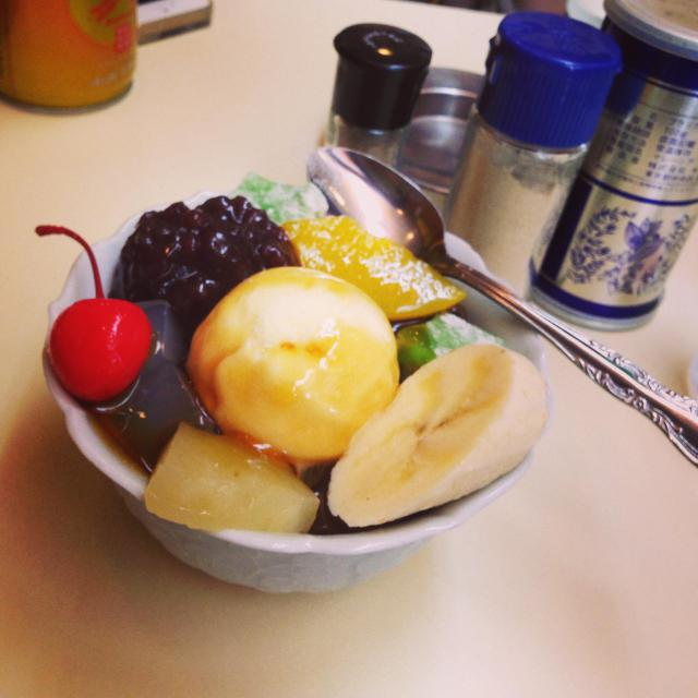 東京都長仙寺の食事