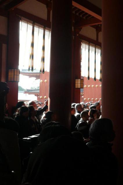 薬師寺の本殿