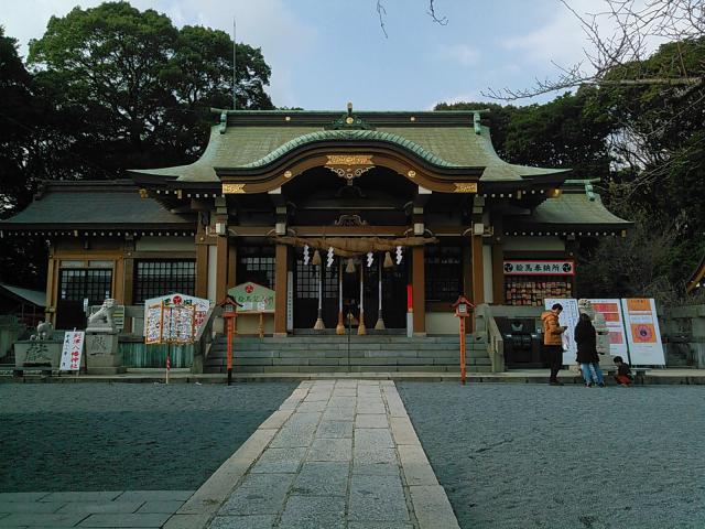 福岡県到津八幡神社の建物その他
